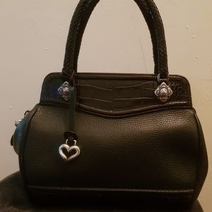 Brighton leather hand bag